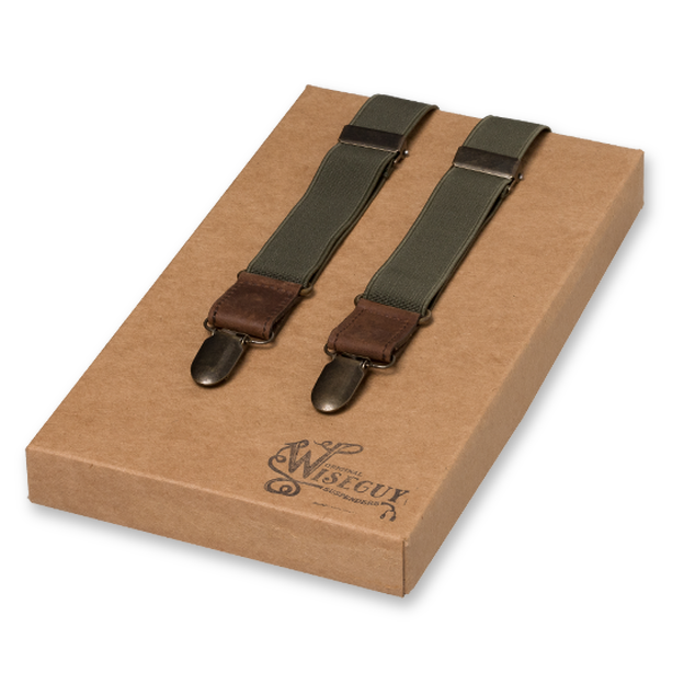 Wiseguy Suspenders - Army Green (1)