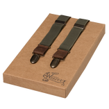 Wiseguy Suspenders - Army Green - Thumbnail 1
